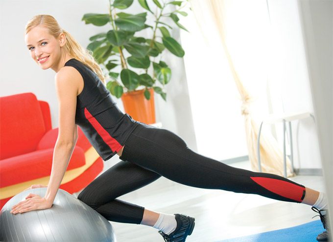 Exercise Ball Exercises For Women